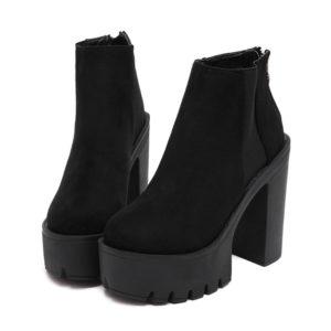 boots e girl style aesthetic dark